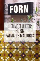 Restaurant FORN Palma de Mallorca