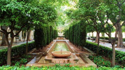 Palma de Mallorca fontein