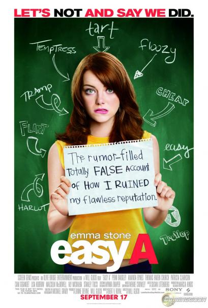 Filmrecensie Easy A