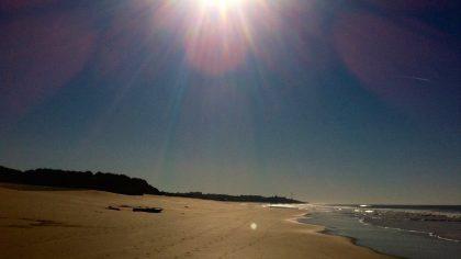 Algarve Portugal Armacao de Pera, strand