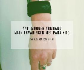 Anti muggen armband: mijn ervaringen met Para'Kito. Voordelen en nadelen op een rijtje