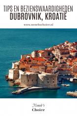 Tips en bezienswaardigheden Dubrovnik Kroatië