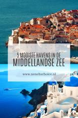 5 mooiste havens in de Middellandse Zee