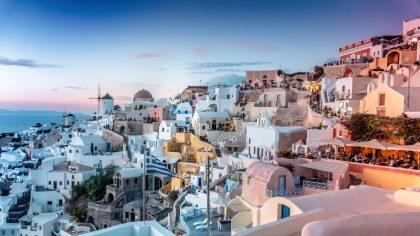 10x de mooiste Griekse eilanden - Santorini