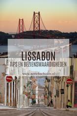 Tips en bezienswaardigheden Lissabon, Portugal
