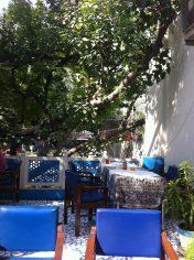 Hotel restaurant Maya Agra dakterras