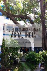 Maya Hotel Restaurant, Agra India