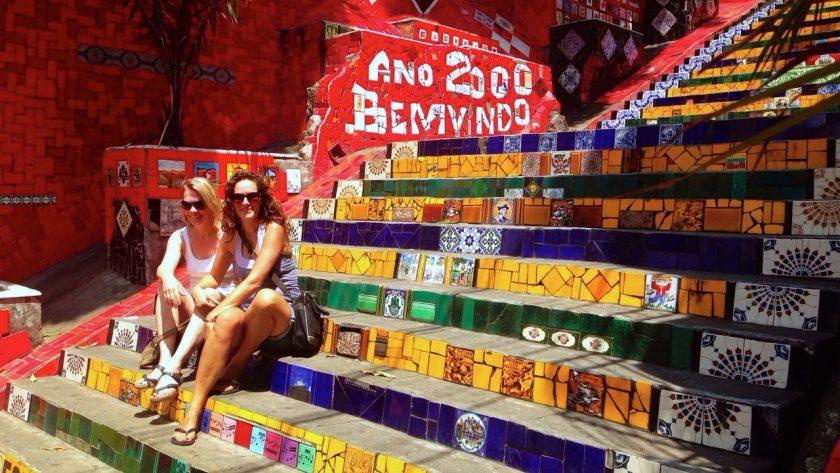 Bezienswaardigheden Rio de Janeiro, Escaderia Selarón