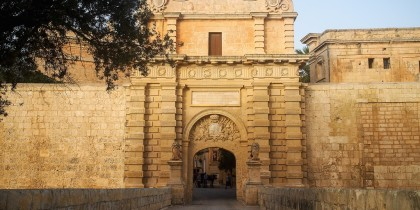 Mdina Gate Malta, King's Landing Gate, Game of thrones
