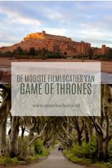 De mooiste filmlocaties Game of Thrones