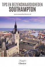 Tips en bezienswaardigheden Southampton Groot Brittannie