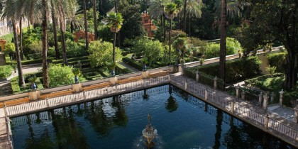 Alcazar Sevilla, Water Gardens of Dorne, Game of Thrones