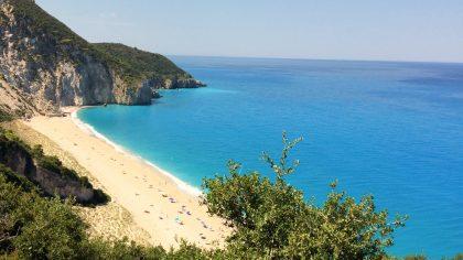 Milos Beach, Agios Nikitas, Levkas, Greece
