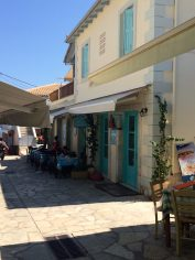 Agios Nikitas, streets, Levkada, Greece