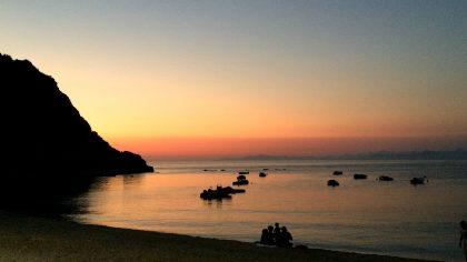 Agios Nikitas Beach, Levkas, sunset