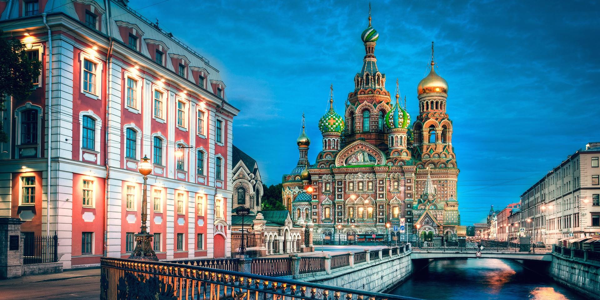 bezienswaardigheden St Petersburg, Russia