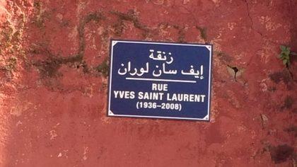 Marrakesh Jardin Majorelle entree