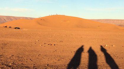 Tinfou Dunes, Marokko zandduinen