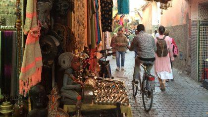 Marrakesh Marokko soukh straat