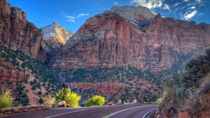 Zion Canyon Scenic Drive, Utah