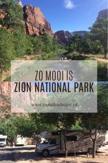 Zion National Park Amerika