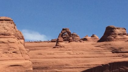 Arches NP, Delicate Arch, Utah, Amerika