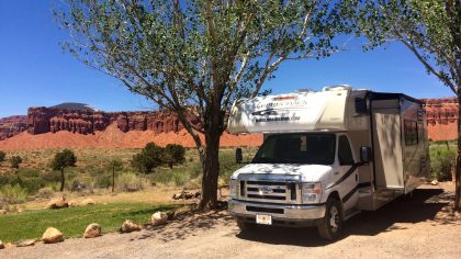 Capitol Reef NP, 1000 Lakes RV Park