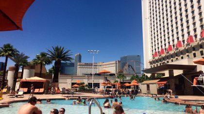 Excalibur zwembad Las Vegas Nevada, Amerika