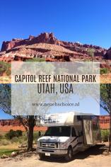 Capitol Reef National Park, Utah, USA