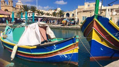 Haven Marsaxlokk Malta