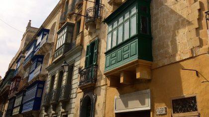Valletta Malta balkons