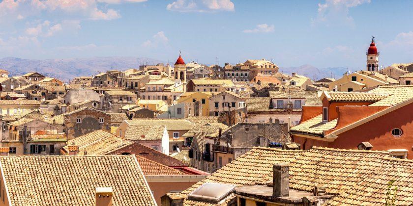bezienswaardigheden Corfu-stad of Kerkyra