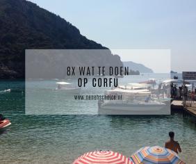 8x wat te doen op Corfu