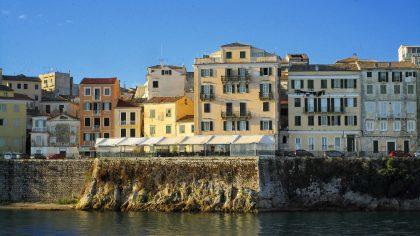 Kerkyra Corfu-stad, Corfu