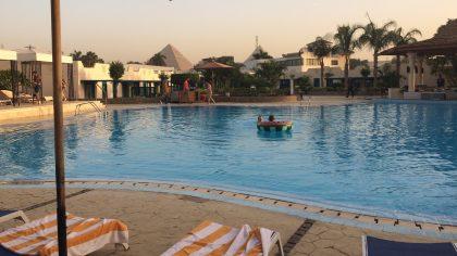 Cairo Pyramids Hotel Egypte
