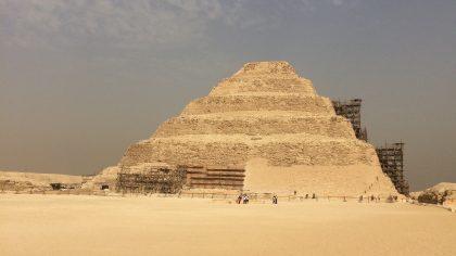 Saqqara Pyramide Cairo Egypte