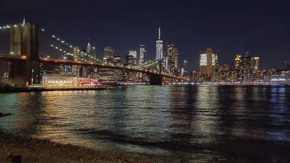 Manhattan Skyline from DUMBO, Brooklyn, NYC