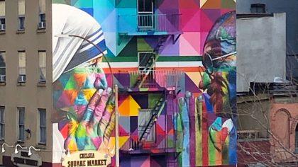 The High line street art