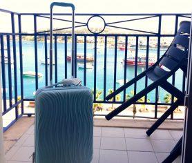 Sliema, Malta, handbagage