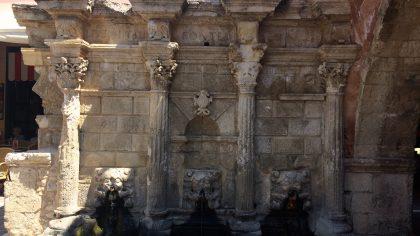 Rimondi Fontein, Rethymnon, Kreta