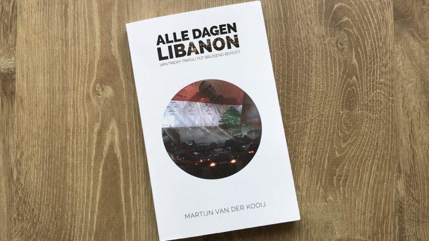 Boekrecensie: Alle dagen Libanon - Martijn van der Kooij