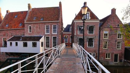 de mooiste dorpjes in Groningen, hangende keukens in Appingedam