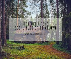11x leuke Airbnb boshuisjes op de Veluwe