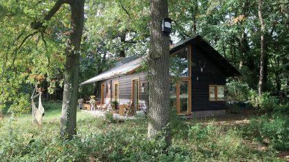 Airbnb boshuisjes op de Veluwe: Houten droomhuis voor twee Arnhem