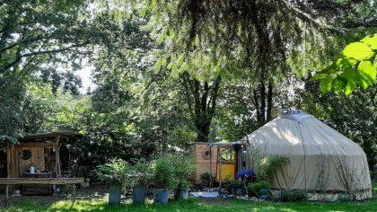 Kirgizische yurt Laag-Soeren