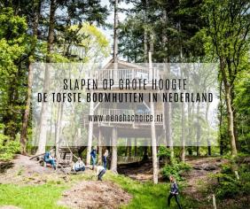 De tofste boomhutten in Nederland