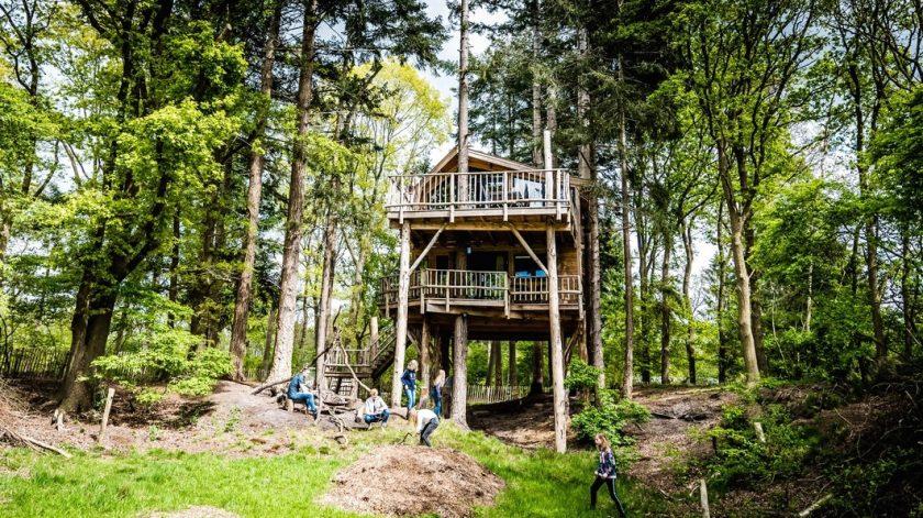 De tofste boomhutten in Nederland, Torentjeshoek Dwingeloo