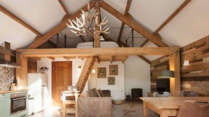 Treehouse Studio binnen Vierhouten