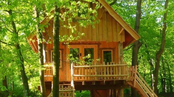 boomhut recreatiepark Mastendol