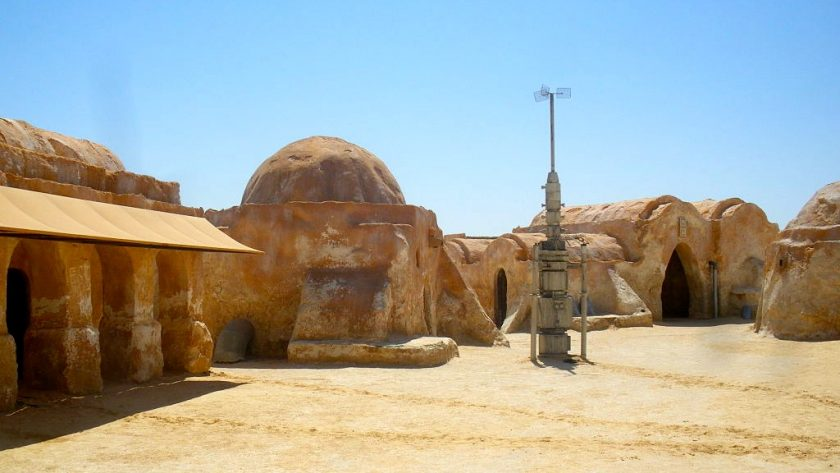 Mos Espa, Tunesië. Filmlocatie Star Wars